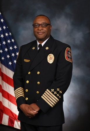 Fire Chief Melvin D. Carter