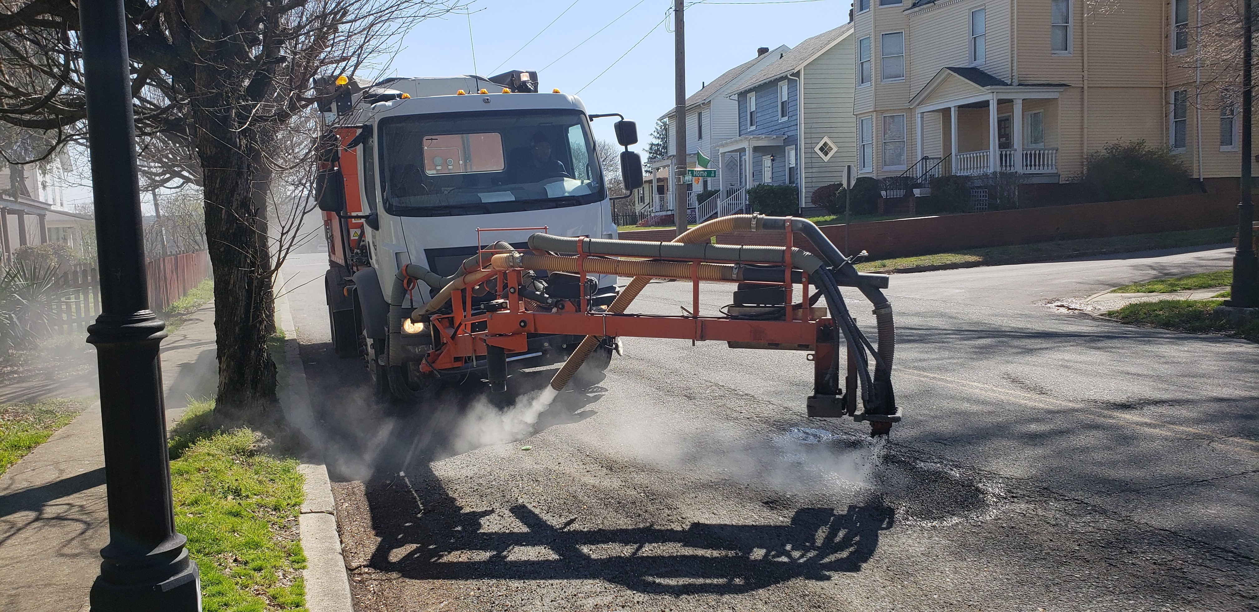 Pothole Machine