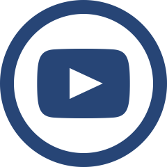 Blue YouTube Icon