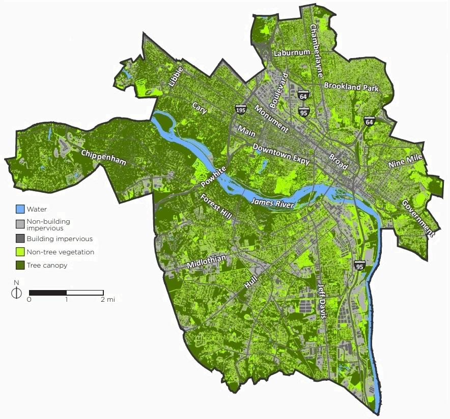 Land Cover in Richmond
