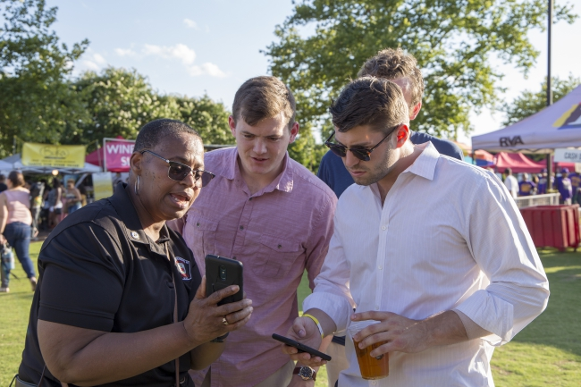 Staff teach PulsePoint at Friday Cheers 2019
